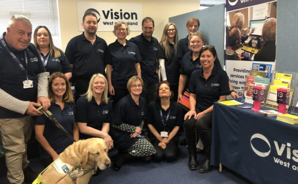 Sight Support West of England team