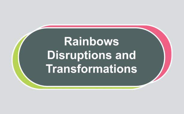 Rainbows, Disruptions and Transformations logo