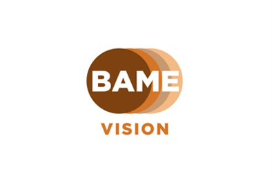 Image is the BAME Vision Logo