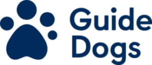 Image is Guide Dogs logo