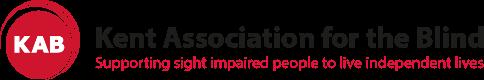 Image is logo of Kent Association for the Blind